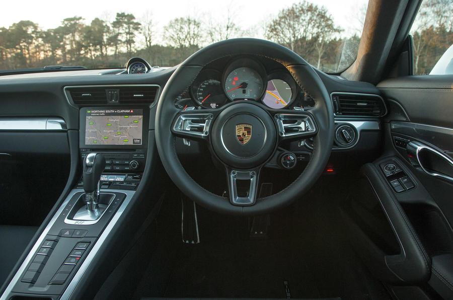 Porsche 911 driver's seat