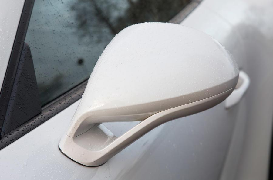 Porsche 911 wing mirror