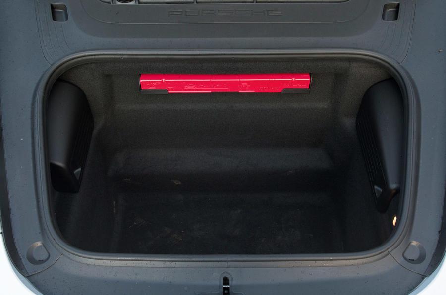 Porsche 911 front boot