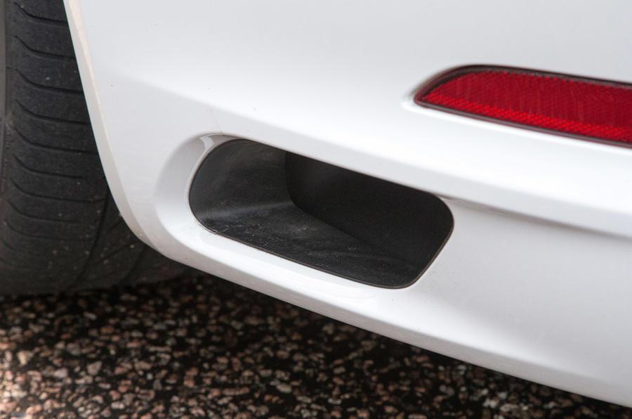 Porsche 911 air vents