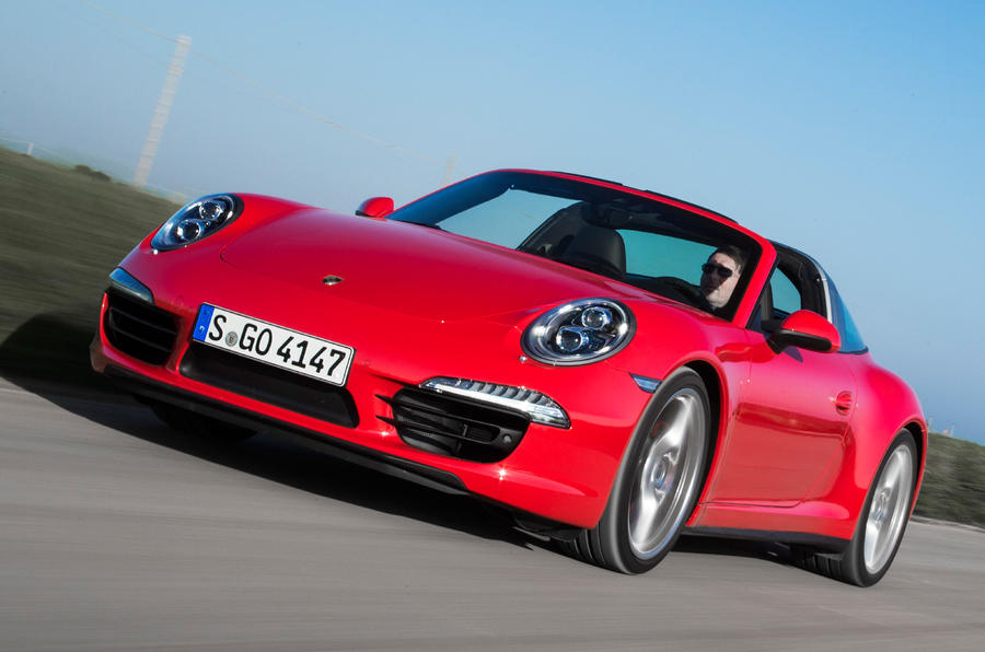 Porsche 911 Targa 4S first drive review