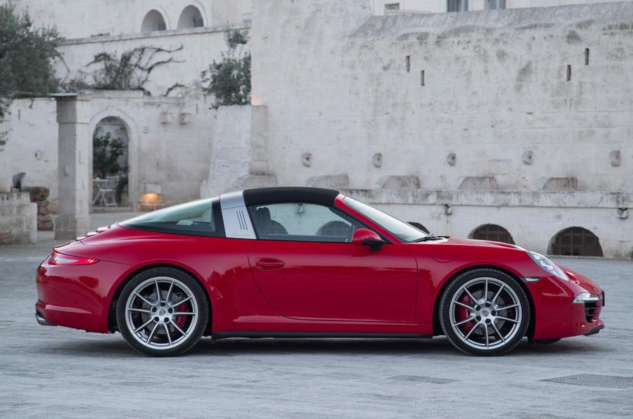 Porsche 911 Targa 4s First Drive