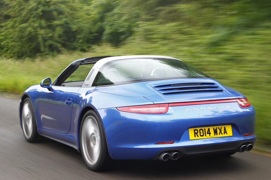 Porsche 911 Targa rear quarter