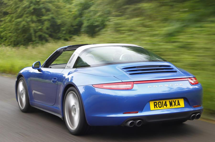 Porsche 911 Targa rear quarter