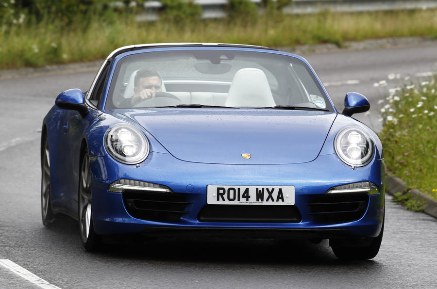 The 394bhp Porsche 911 Targa