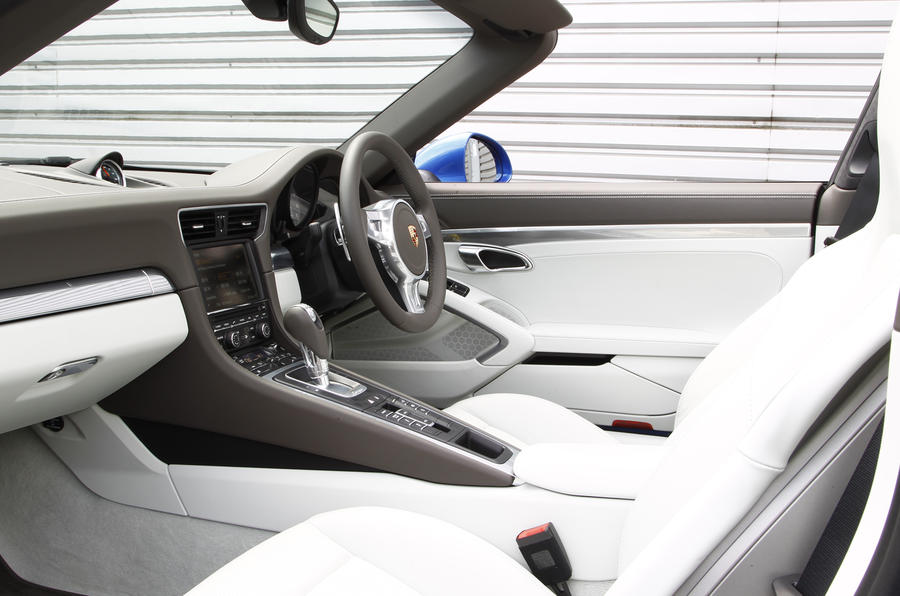 Porsche 911 Targa Interior Autocar
