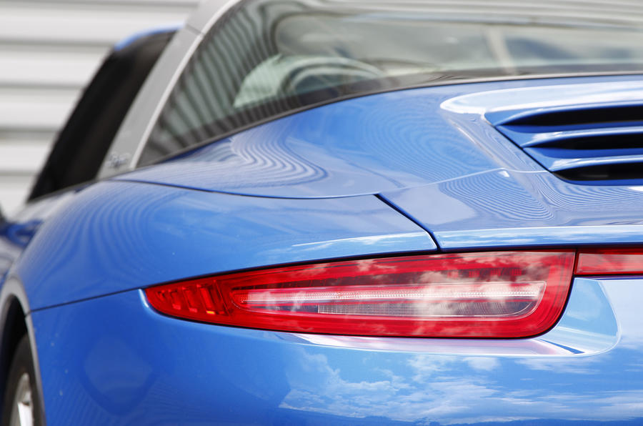 Porsche 911 Targa rear lights