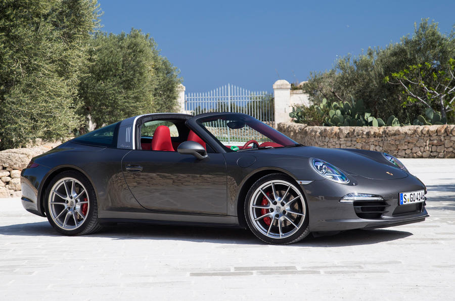 Brilliant Porsche 911 Targa 4S First Drive