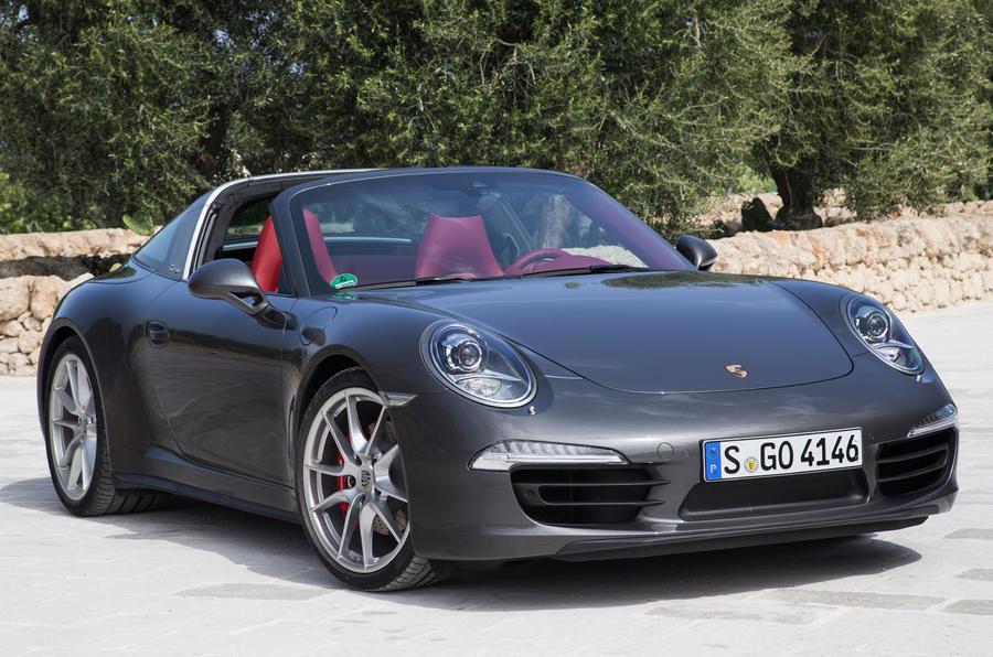 ... want an open-top Porsche, this latest 911 Targa is a tempting offer