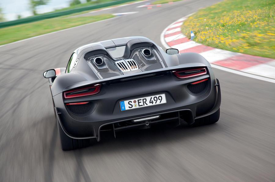 Porsche 918 rear end