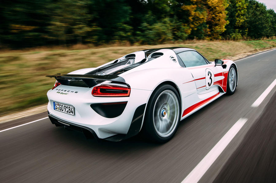 Porsche 918 Spyder 2013 2015 Review