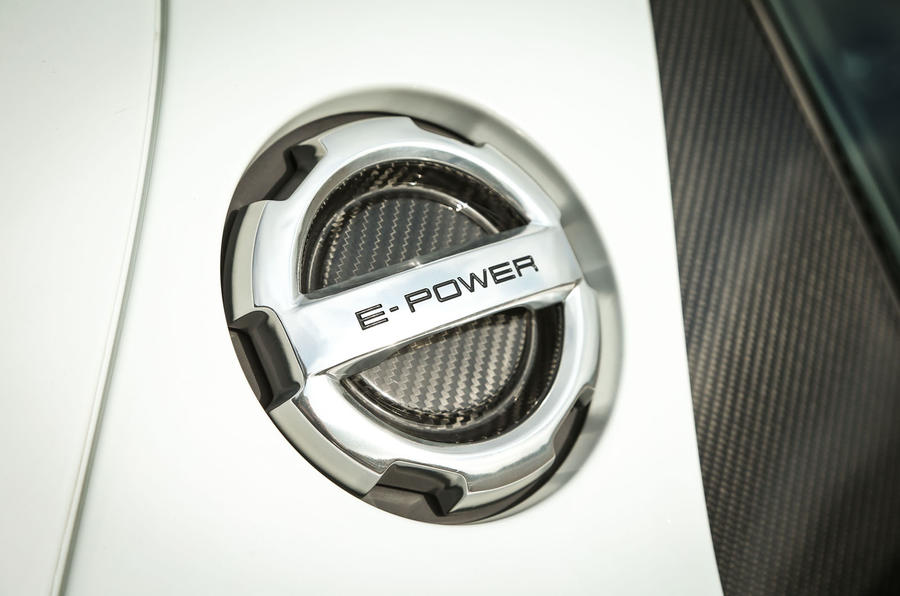 Porsche 918 Spyder charging port