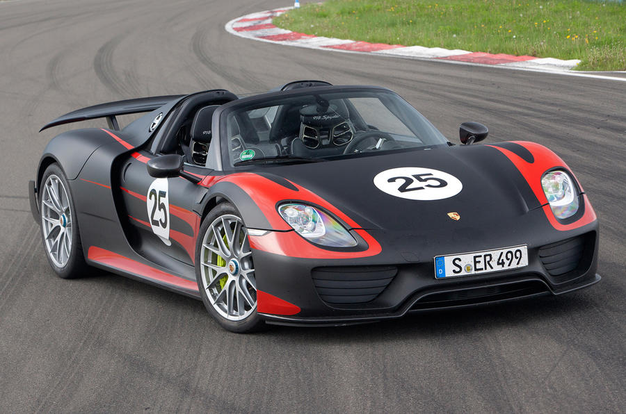 Porsche 918 2+2 coupe under consideration
