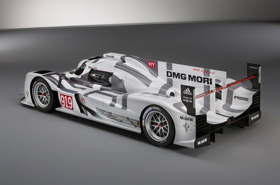 Porsche 919 Hybrid Le Mans challenger revealed