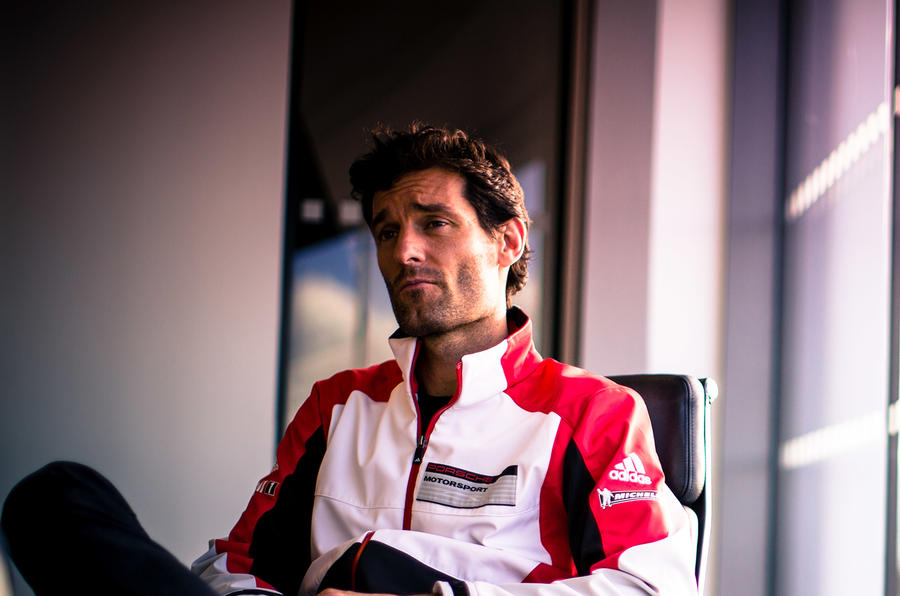 Porsche at Le Mans - Mark Webber interview and 919 Hybrid gallery