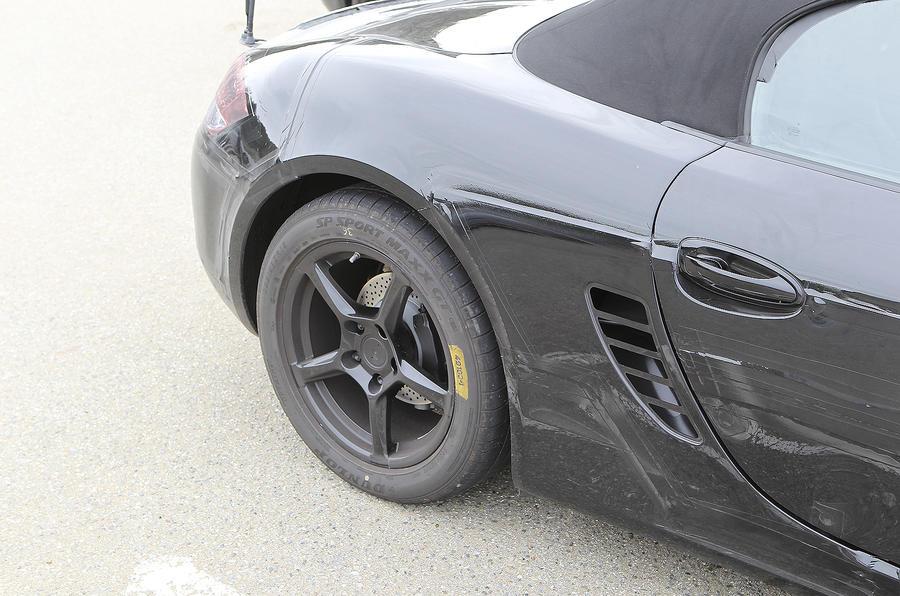 All-new Porsche Boxster - first ride