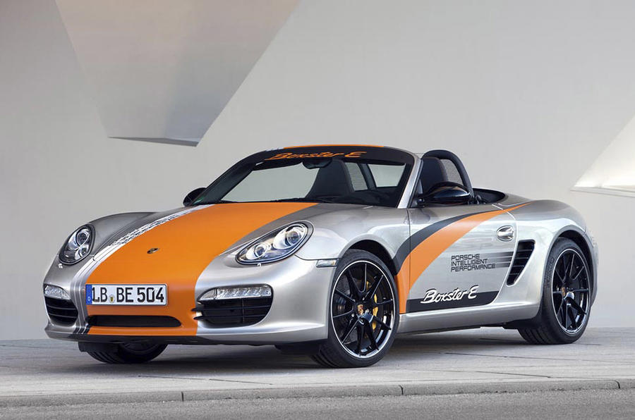 Porsche launches electric Boxster