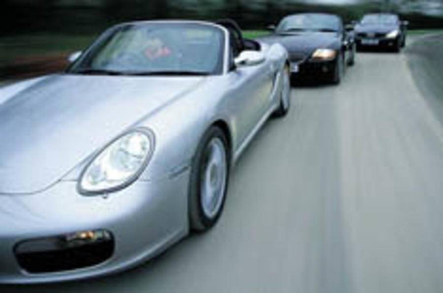 Boxster squares up for open top shootout