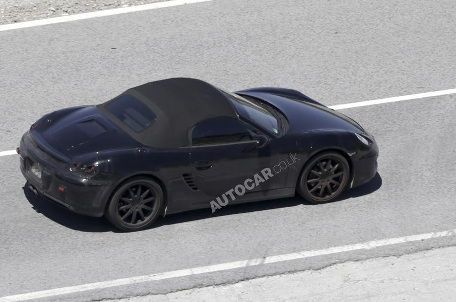 Next Porsche Boxster: new pics
