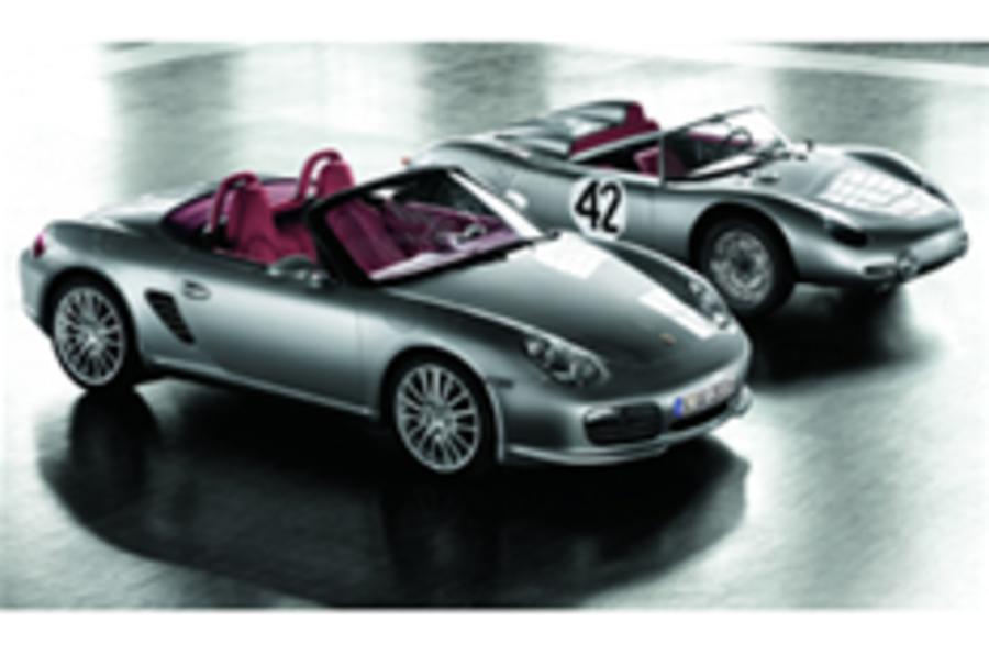 Porsche reveals special edition Boxster