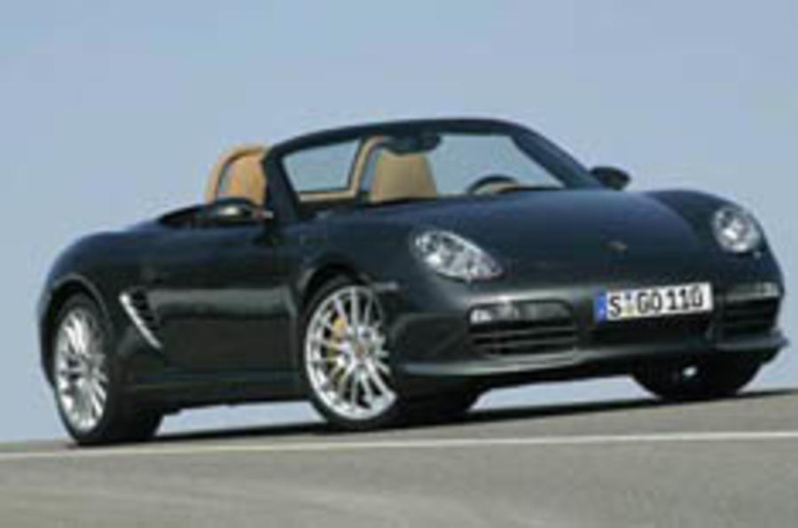 Porsche beefs up the Boxster