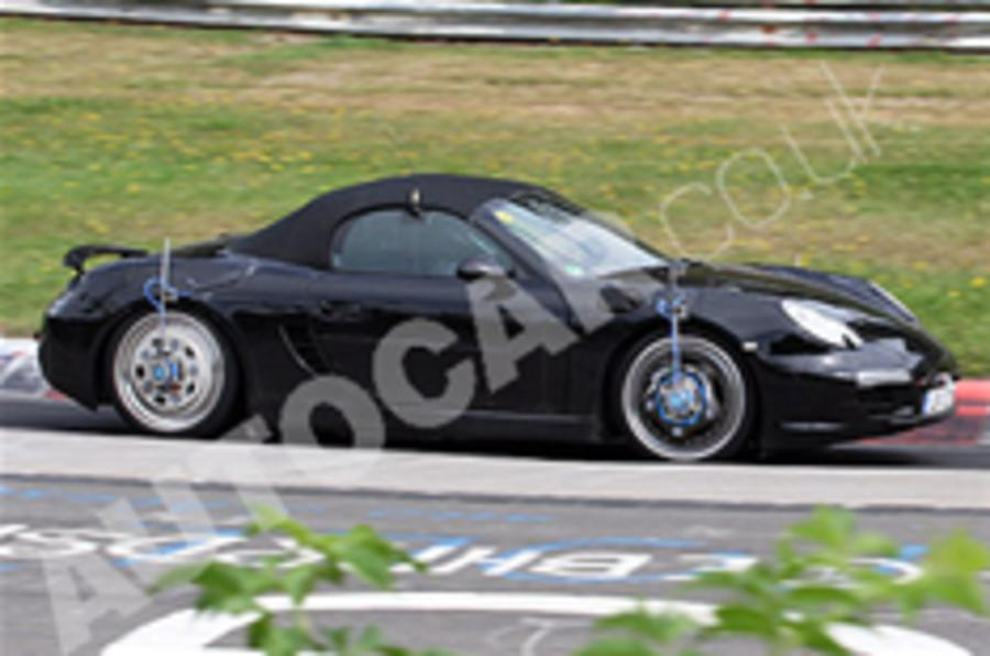 New Porsche Boxster on video
