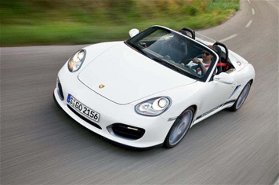 Porsche Boxster Spyder - 90sec verdict