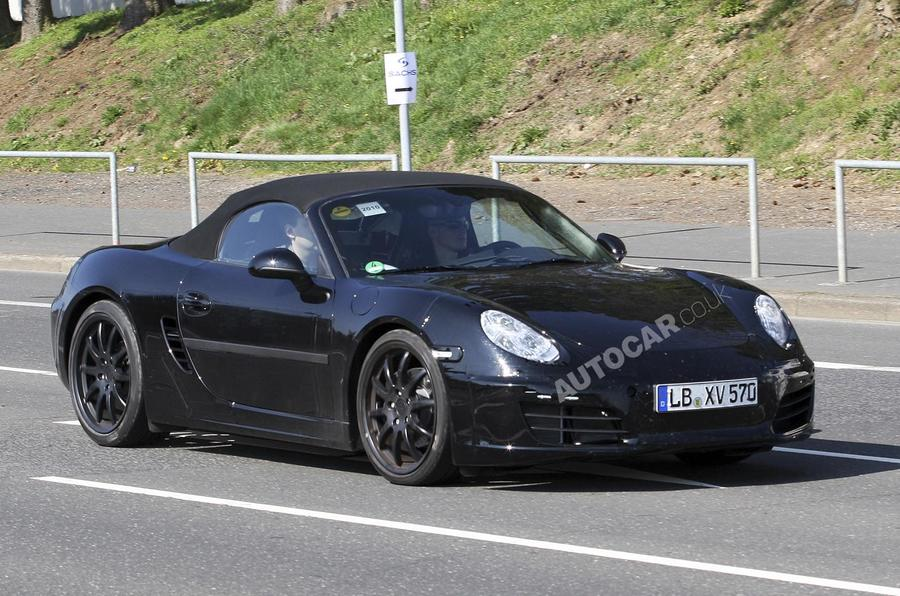 New Porsche Boxster: latest pics