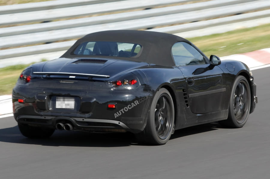 New Porsche Boxster spy shots