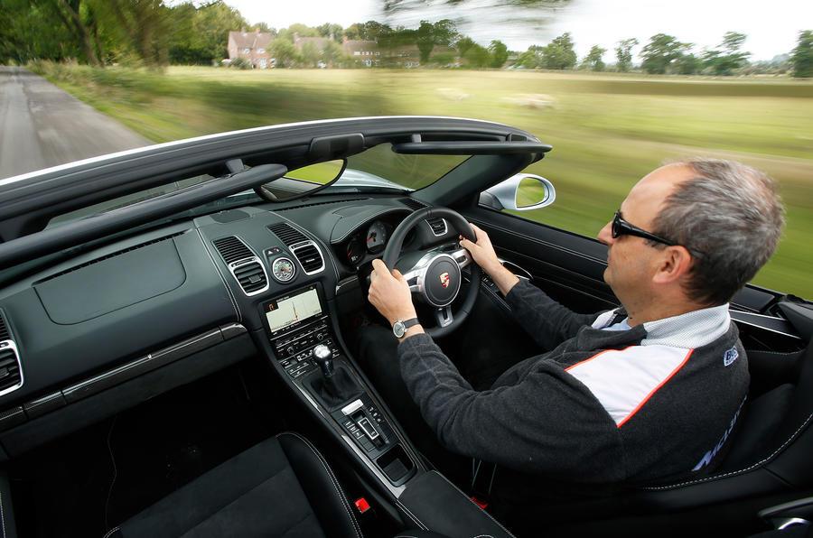 Driving the Porsche Boxster GTS