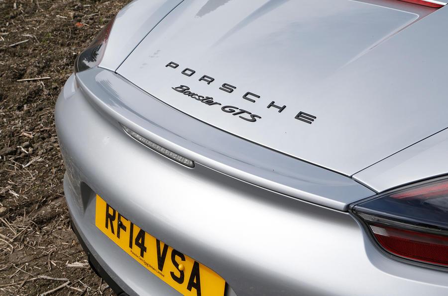 Porsche Boxster GTS rear spoiler