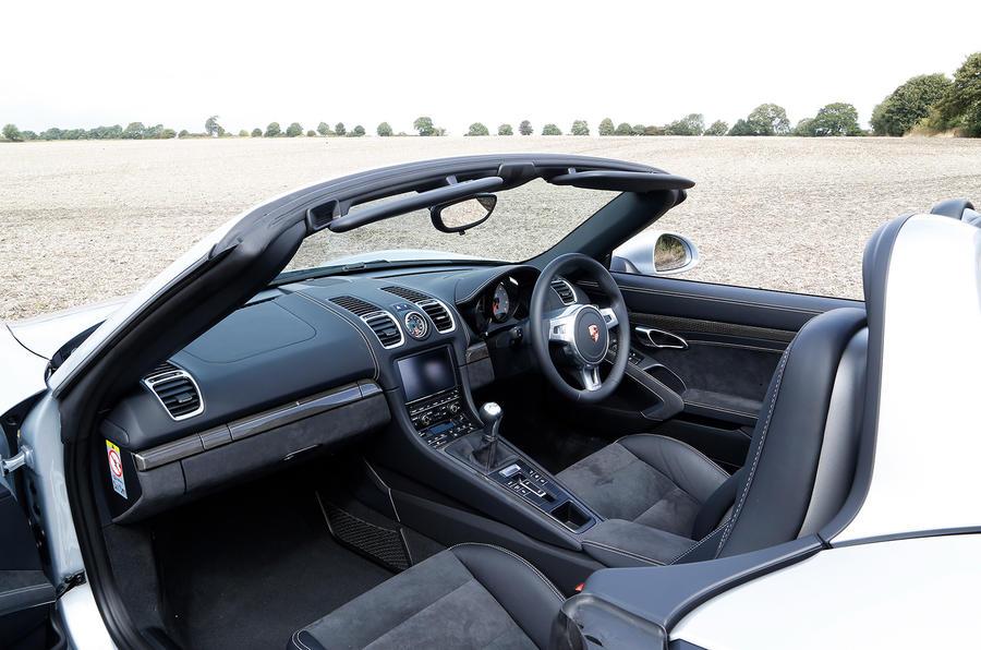 Porsche Boxster GTS interior