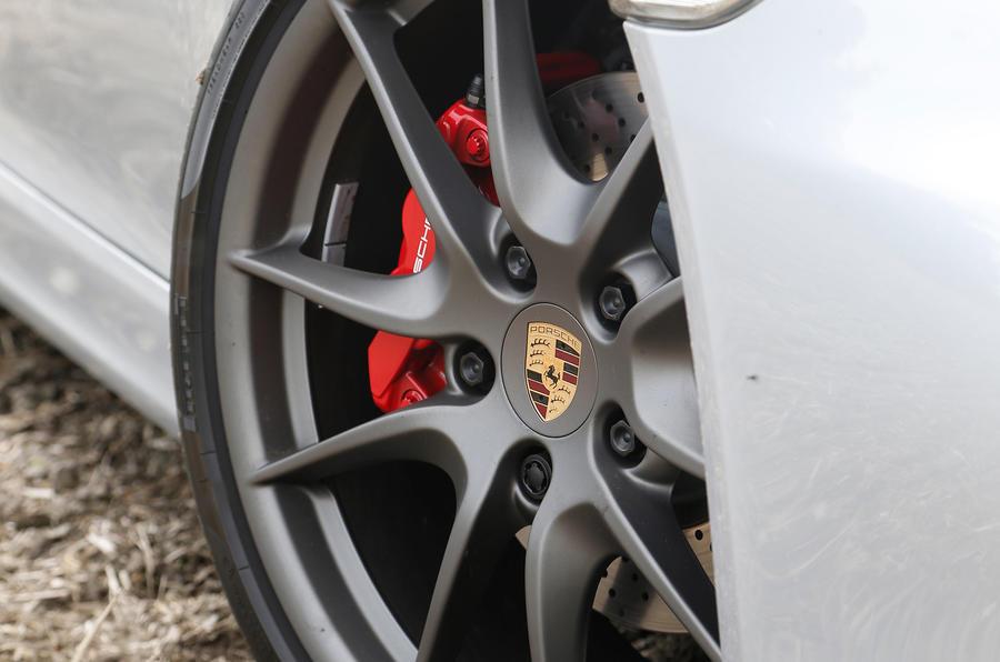 Porsche Boxster GTS alloy wheels