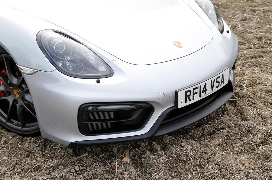 Porsche Boxster GTS front end