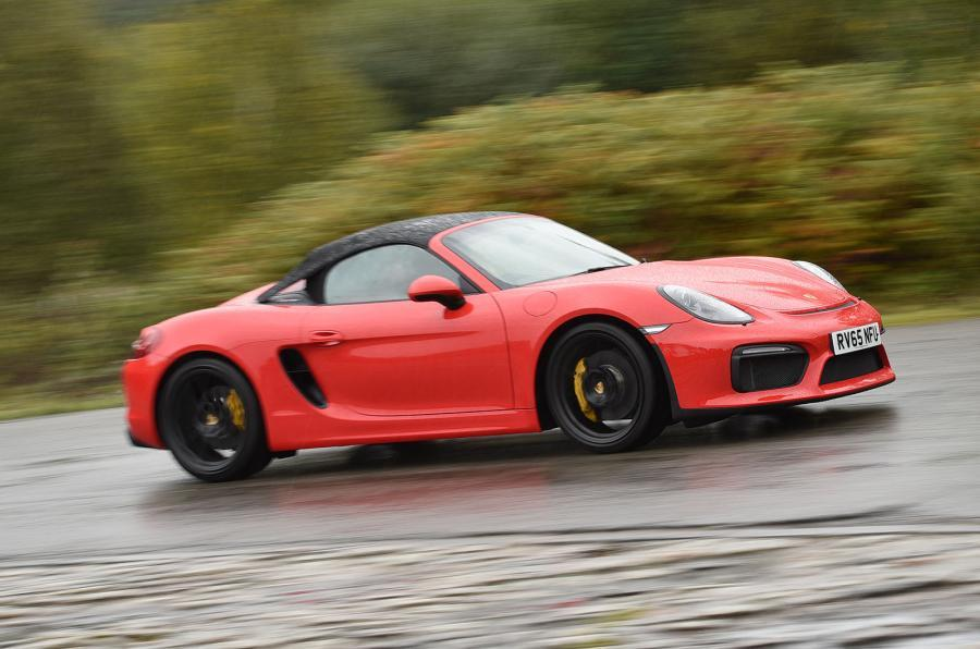£60,459 Porsche Boxster Spyder