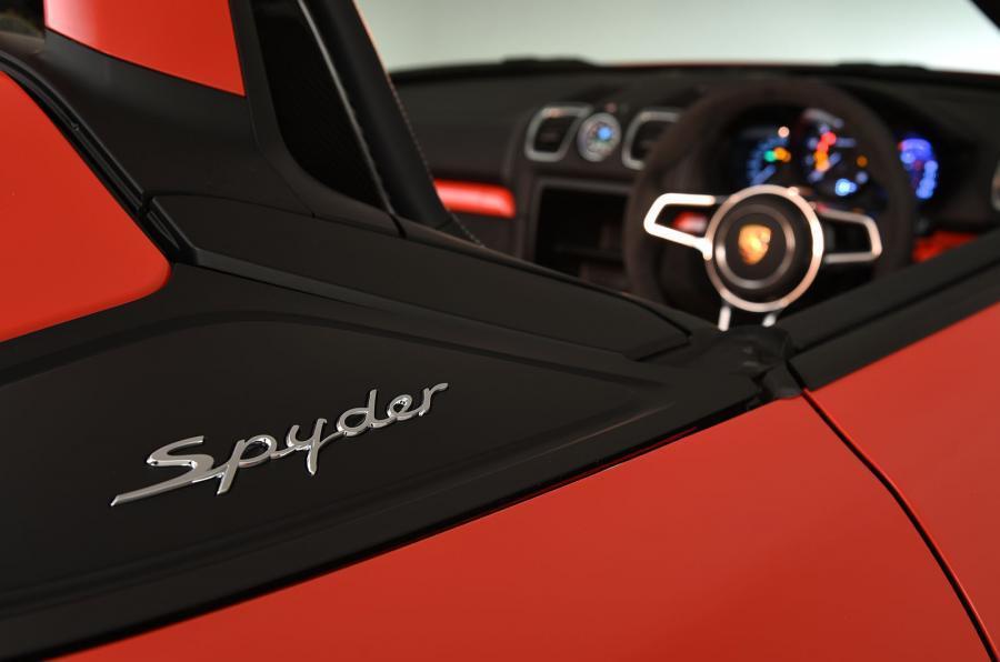 Porsche Boxster Spyder decals