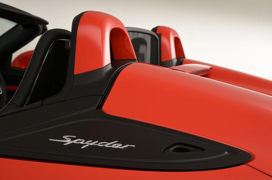 Porsche Boxster Spyder roll hoops