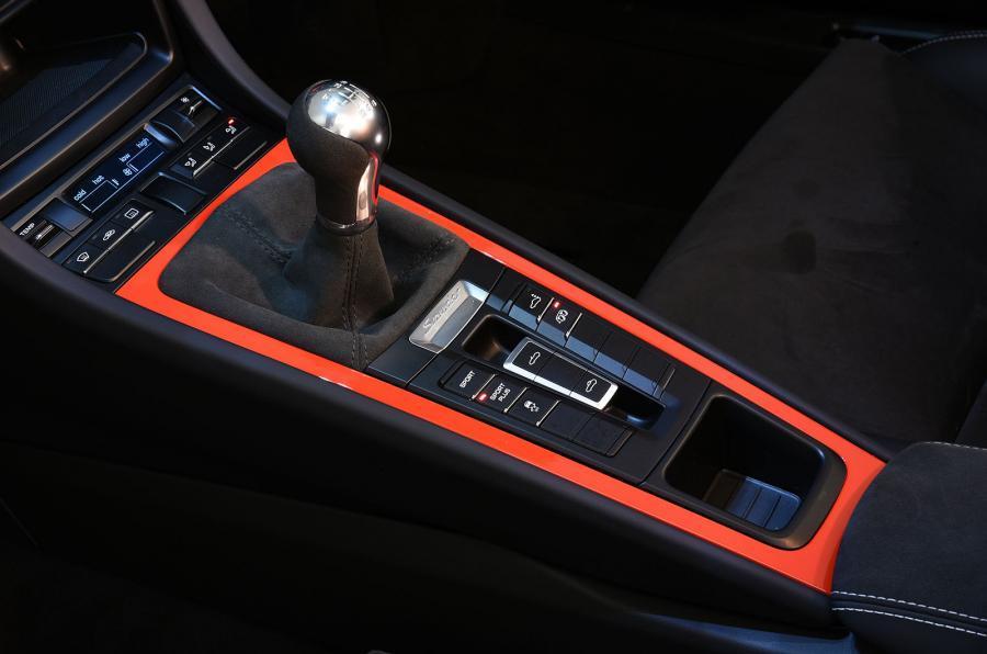 Porsche Boxster Spyder manual gearbox