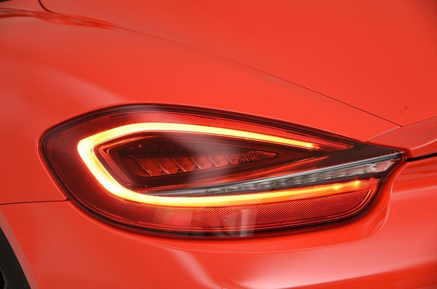 Porsche Boxster Spyder rear lights