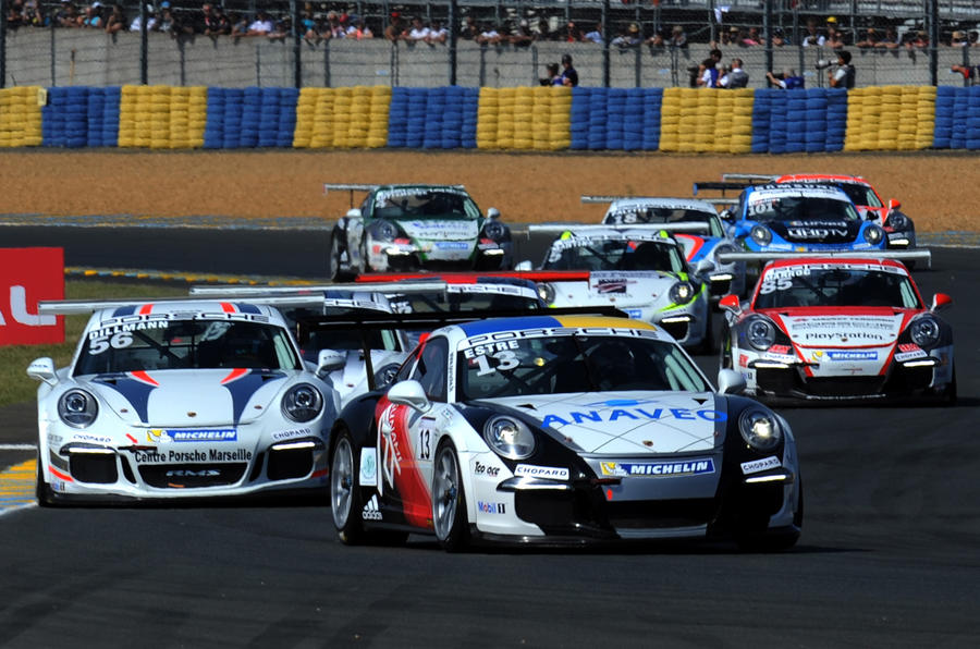Le Mans blog - a thrilling introduction to the Porsche Carrera cup