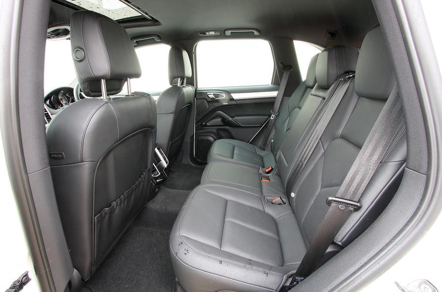 Porsche Cayenne rear seats
