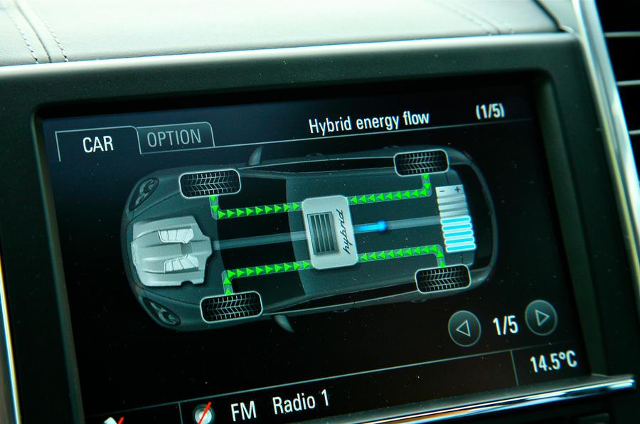 Porsche Cayenne hybrid powertrain