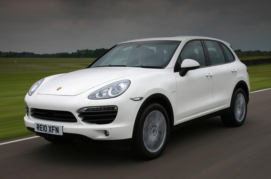 Porsche Cayenne front quarter