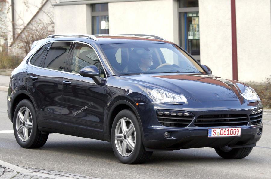 Porsche Cayenne 'undisguised'