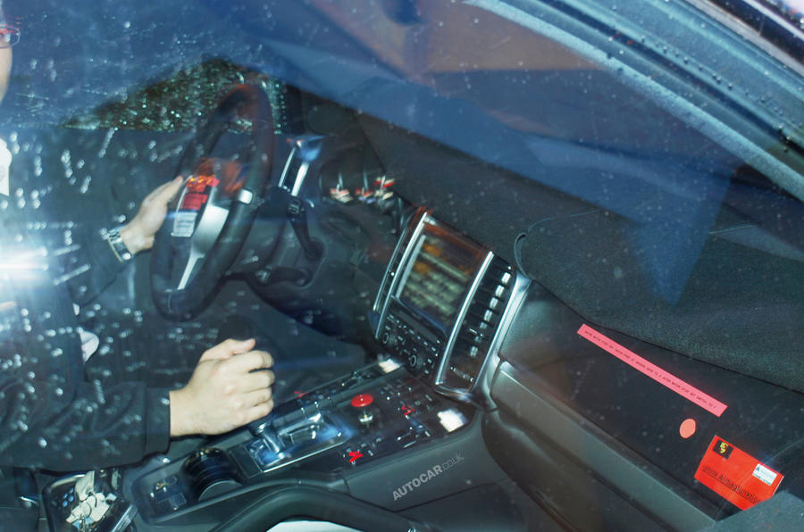 Porsche Cayenne - official details