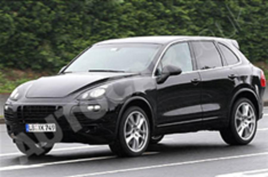 Spotted: next Porsche Cayenne