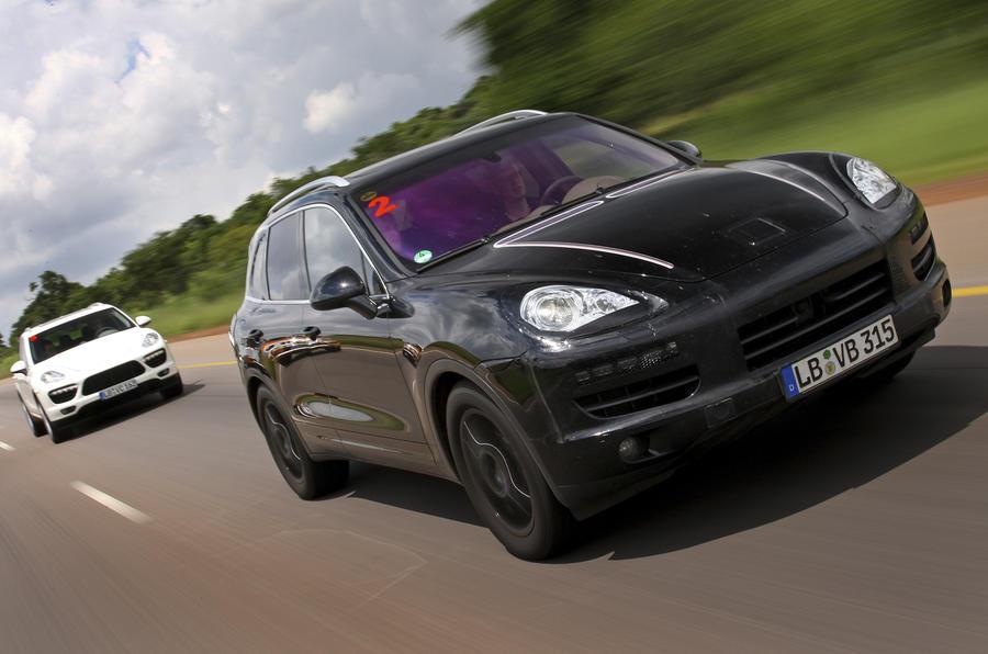 Geneva show: Porsche Cayenne hybrid