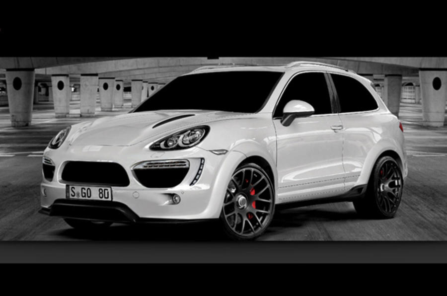 Two-door Cayenne revealed