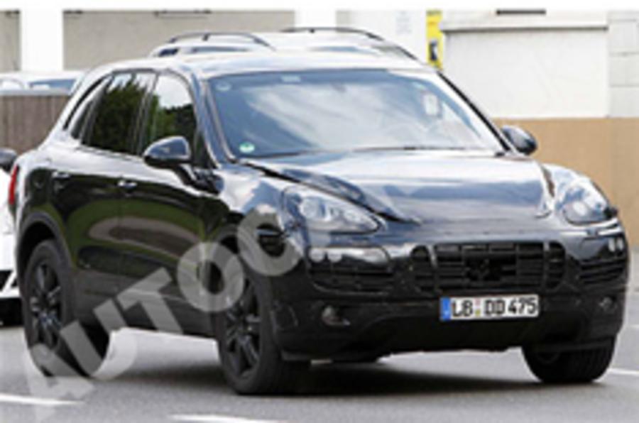 Next Porsche Cayenne snapped
