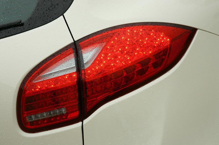 Porsche Cayenne rear lights